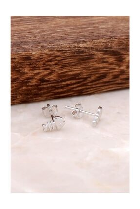Sümer Telkari Balık Tasarımlı Elişi Gümüş Küpe 3841