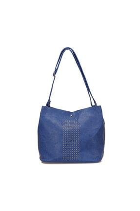 Missf B15sqsp052 Mavi Kadın Omuz Çantası