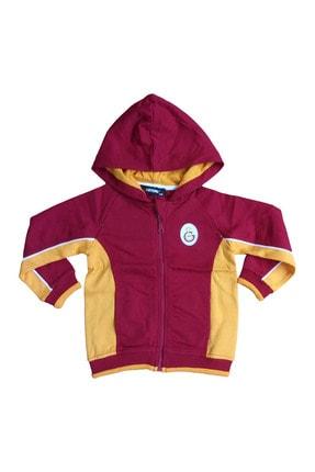 Galatasaray Unisex Çocuk Kırmızı Sweatshirt