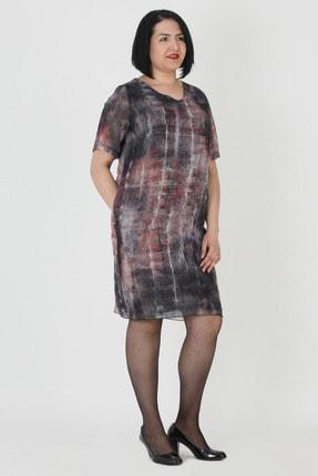 Günay Giyim Kadın Siyah Şifon Elbise 77203200003002