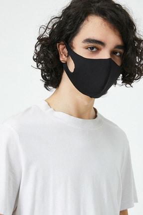 Koton Erkek Siyah Yikanabilir Maske 0YAM55023AA