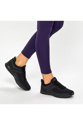 Lumberjack Strong Wmn 9pr 100416539 Kadın Siyah Spor Ayakkabı