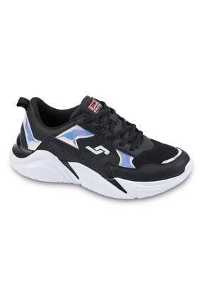 Jump Kadın Spor Ayakkabı 24800 SİYAH-SOMON 20S0424800