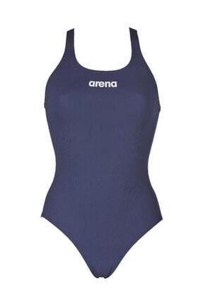 Arena Solid Swim Pro Kadın Yüzücü Mayo Mavi
