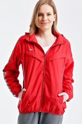 Tryon Kırmızı Kadın Yağmurluk