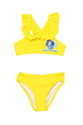 Enchantimals Kız Çocuk Sarı Bikini