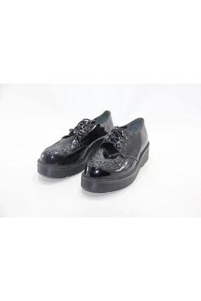 İnci Kadın Siyah Hakiki Deri Klasik Ayakkabı