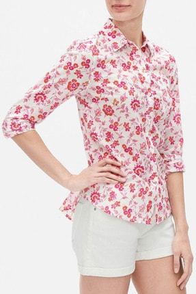 Gap Kadın Desenli Uzun Kollu Gömlek 584889