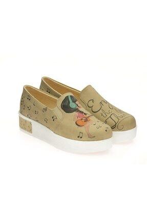 Goby Kadın Bej Ayakkabı