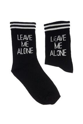 Köstebek Leave Me Alone - Unisex Çorap