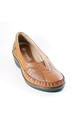 Forelli Forellı 26209  Deri Ortopedi Kadın Ayakkabı