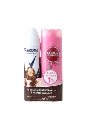 Rexona Shower Fresh Kadın Deodorantı 150 Ml + Elidor Güçlü Ve Parlak Şampuan 185 Ml