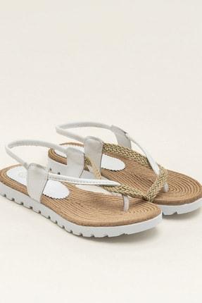 Elle JONA-1 Beyaz Sandalet 20YUA789