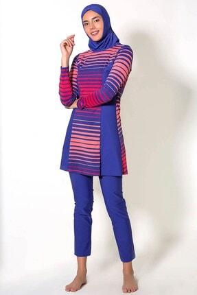 CAMASIRCITY Kadın Renklı Tesettür Mayo