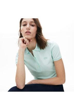 Lacoste Kadın Açık Mavi Polo PF5462