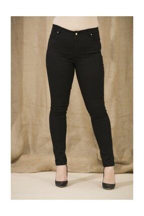 Bayan Büyük Beden Pamuk Pantolon Siyah GLB1239P