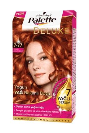 Palette Deluxe Yoğun Bakır (7.77) Krem Saç Boyası