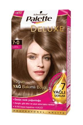 Palette Deluxe Kumral (7.0) Krem Saç Boyası