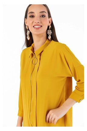 Tiffany K20044 Fermuarlı Charme Tunik