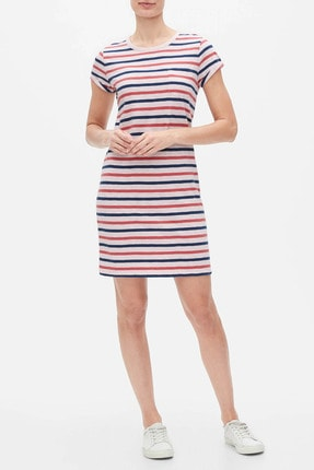 Gap Kadın Cepli Kısa Kollu Elbise 577594