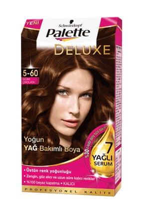 Palette Deluxe 5.60 Sıcak Çikolata Krem Saç Boyası