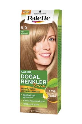 Palette Saç Boyası 8 0 Bal Köpüğü Kalıcı Doğal Renkler