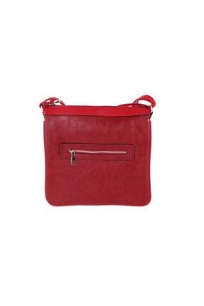 Hobby Kırmızı Kadın Postacı Çantası Lc0014
