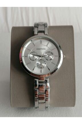 Choppers Kadın Gümüş Renk Metal Kol Saati