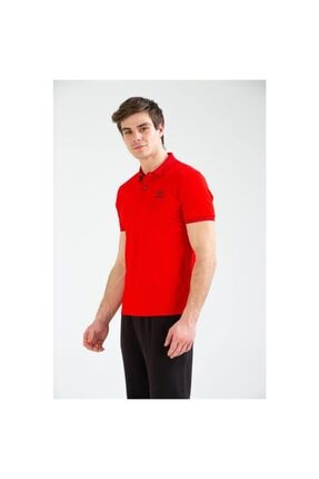 Umbro Erkek Kırmızı Polo Yaka T-shirt Tf-0057