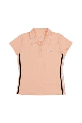 Lumberjack W-1874 Lındsay Kk Polo Ts Somon Kadın Kısa Kol T-shirt
