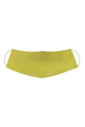 Perspective Sarı Kadın Bez Maske 0002