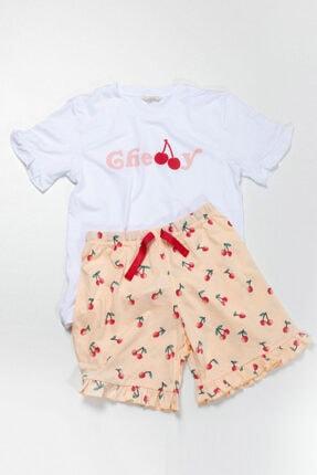 Katia Bony Cherry Kız Çocuk Şort Takım - Mıx