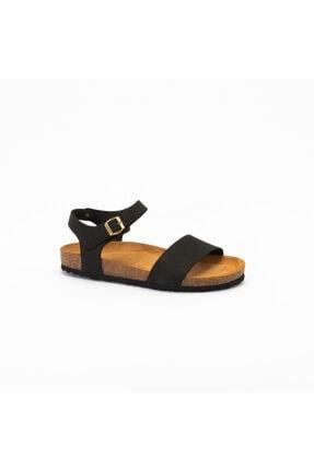 Frau Kadın  Siyah  Günlük Ayakkabı 5853 Nabuk-v Nero