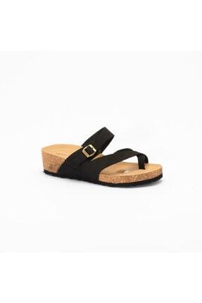 Frau Kadın Siyah  Günlük Ayakkabı 6050 Nabuk-v Nero
