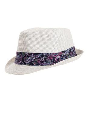 Forum Fashion Hs-02 Hasır Fötr Şapka-beyaz