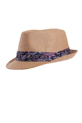 Forum Fashion Hs-02 Hasır Fötr Şapka-kahve