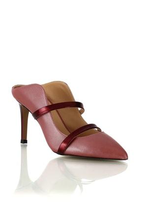 POLETTO Kadın Ayakkabı 4292 90 Napa Sedefli Nar Rugan Sımlı 1315 R6367-(8.5 cm)