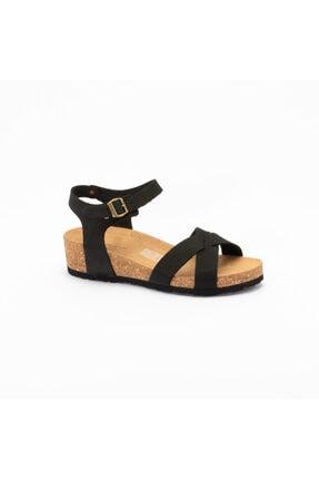 Frau Kadın Nero  Günlük Sandalet ı 6057