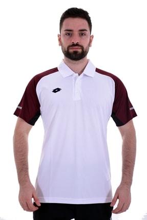 Lotto Polo T-shirt Erkek Beyaz/kırmızı-calıtrı Polo Pl-r5813