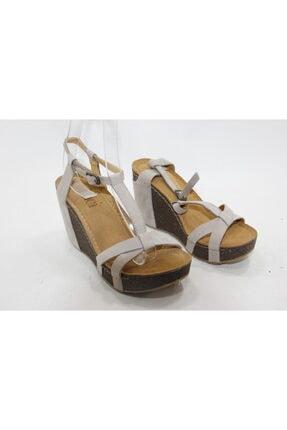 İnci Kadın  Süet Topuklu Ayakkabı