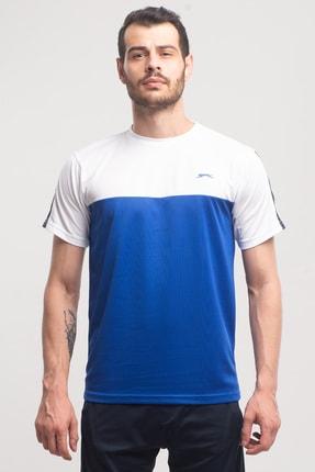Texas Erkek T-shirt Saks Mavi ST10TE143