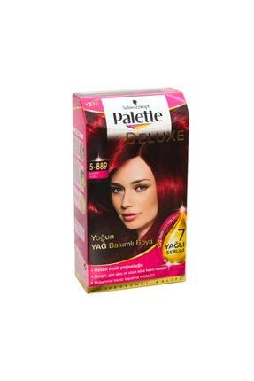 Palette Deluxe Şarap Kızılı Saç Boyası