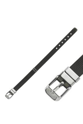 LUZDEMIA Kadın Siyah Slider Bracelet Tokalı Bileklik