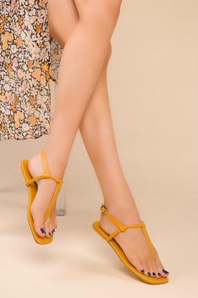 SOHO Hardal Sarı Kadın Sandalet 15150