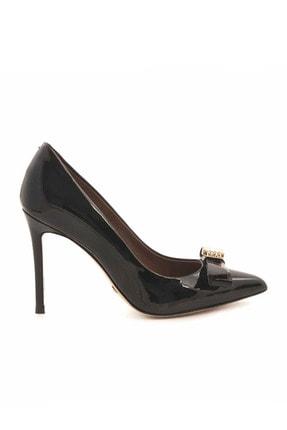 Rouge Sıyah Rugan Kadın Abiye Ayakkabı  201Rgk680 2536-97