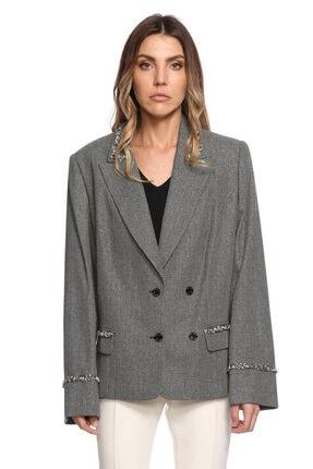 Ferre Siyah Beyaz Ceket