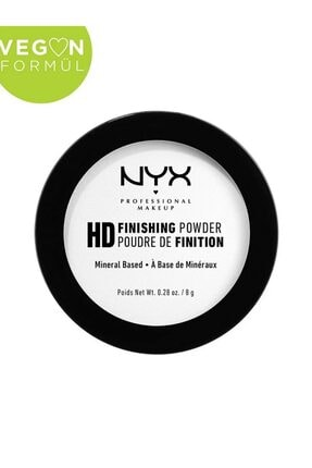 NYX Professional Makeup Sabitleyici Pudra - High Definition Finishing Powder Translucent 43,gr