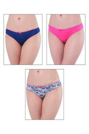 ÖZKAN underwear Özkan 24256 3'lü Paket Kadın Külot