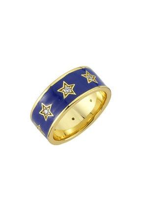 LUZDEMIA Amz. Yüzük 925 - 1 - Mavi