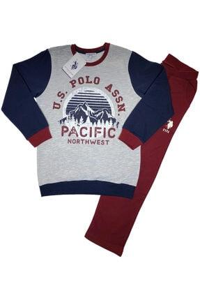 U.S Polo Assn. Erkek Çocuk Eşofman Takım %100 Orijinal - Us2513
